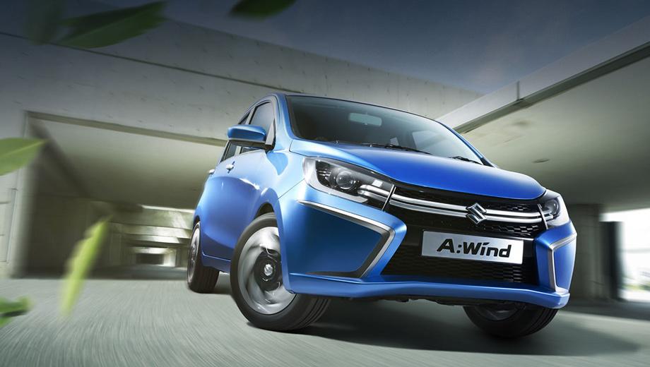 Suzuki a-wind,Suzuki concept. По сути концептом-то A:Wind и не выглядит, хоть завтра запускай модель в конвейерное производство. Похоже, японцы так и поступят, отправив модель без доработок в серию.