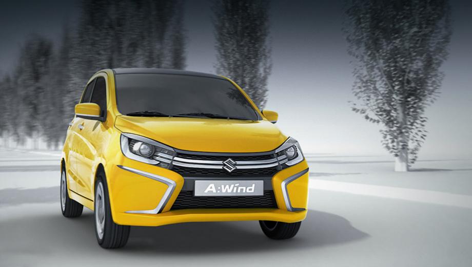 Suzuki alto,Suzuki celerio. Скорее всего, во внешности серийной машины будет мало отличий от концепта.