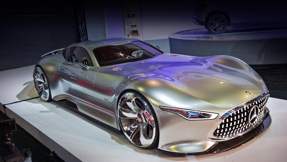 Mercedes amg. Насколько серийная версия будет отличаться от той, что была выставлена на стенде компании в Лос-Анджелесе, пока неясно.
