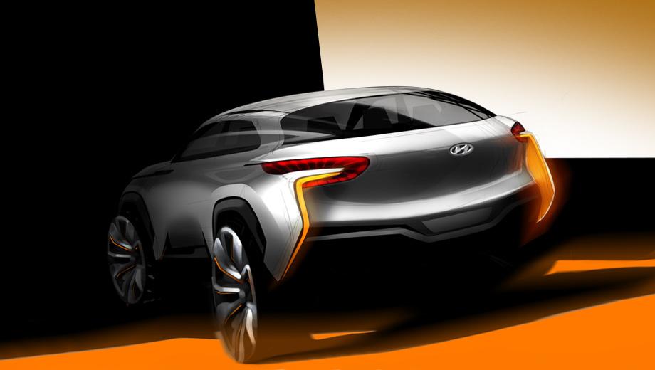 Hyundai intrado. Можно предположить, что концепт Hyundai Intrado является предвестником нового компактного кроссовера, который сможет составить конкуренцию паркетнику Nissan Juke.