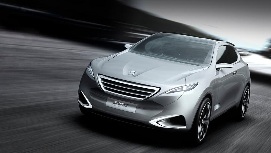 Peugeot 6008. Предвестником нового кроссовера стал концепт Peugeot SXC, показанный ещё в 2011 году.