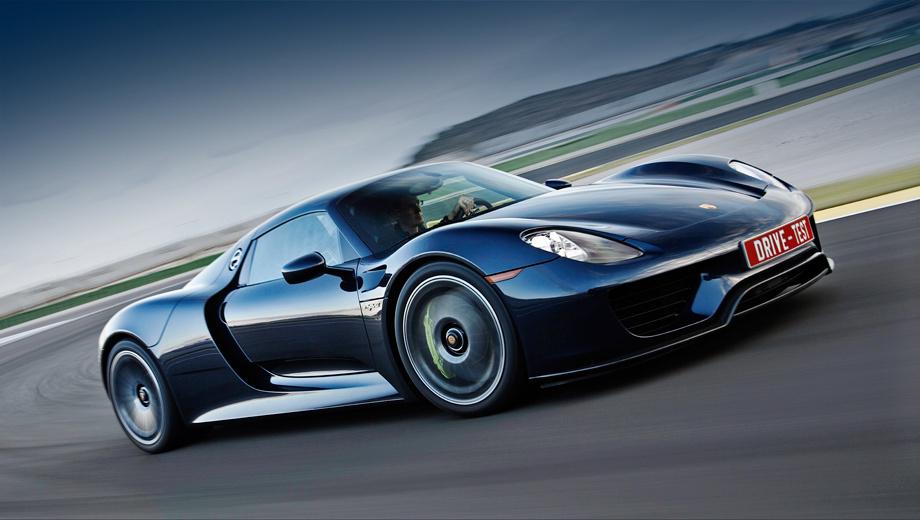 Porsche 918. Российские цены обозначены в инвалюте: от 991 300 евро за обычный Spyder и от              1 082 300 — за облегчённый, с пакетом Weissach. То есть рост курса на рубль удорожает машину разом на миллион.