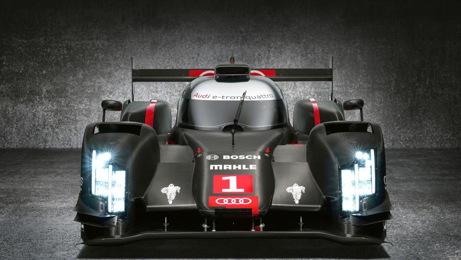 Audi r18. В сезоне WEC 2014 команда Audi будет защищать чемпионский титул. Во всех восьми гонках серии она выставит по два болида R18, за исключением «24 часов Ле-Мана». Там по плану на кольцо должны выйти три «эрки». Состав команды будет объявлен позднее.