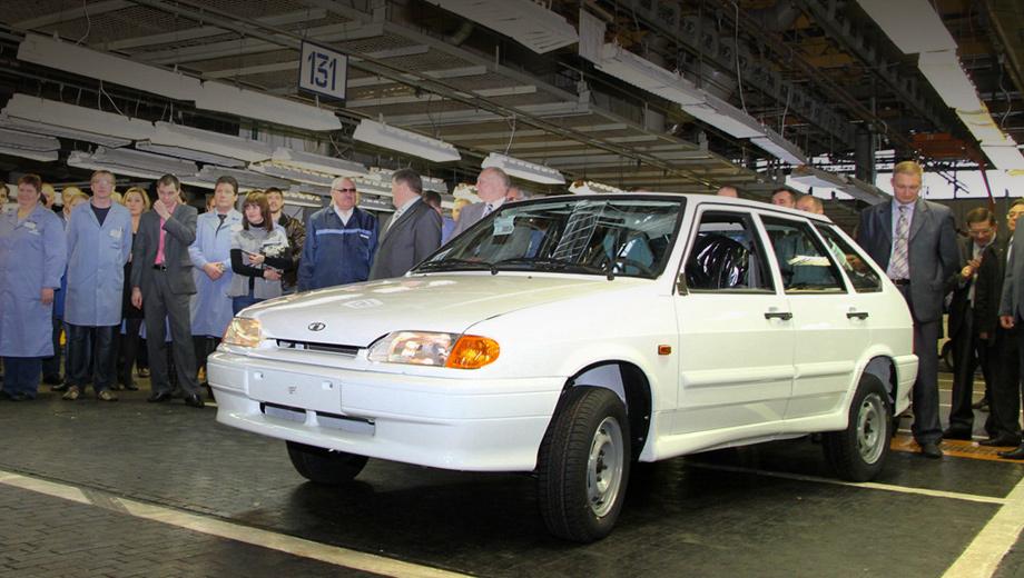 Lada samara. Последней произведённой Самарой стал пятидверный хэтчбек ВАЗ-2114.