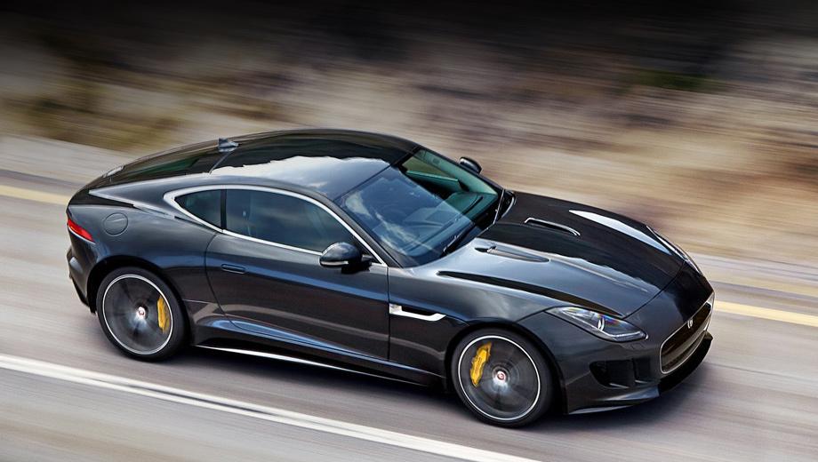Jaguar f-type. Начало продаж F-Type в кузове купе на российском рынке запланировано на апрель 2014 года.