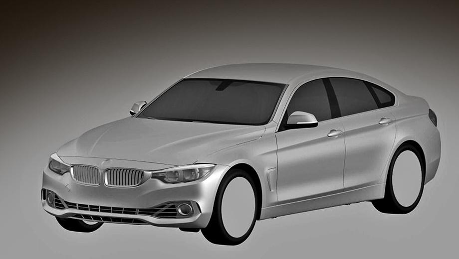 Bmw 4,Bmw 4 gran coupe. Седан четвёртой серии компания позиционирует как более острую по дизайну альтернативу седану третьей серии. Чего только стоят «жабры» на «крыльях» и безрамочные окна.