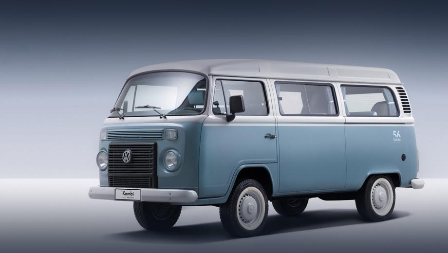 Volkswagen kombi. Выпуск этой модели в Сан-Бернардо-до-Кампо стартовал в 1969 году. В Европе она была снята с производства в 1979 году, в Аргентине продержалась на конвейере до 1986-го, а в Мексике до 1996 года. На снимке — прощальная серия Last Edition.