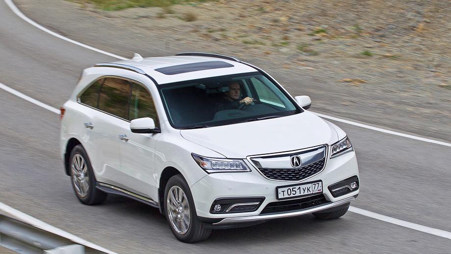 Acura mdx,Acura rdx. Кроссовер Acura MDX в российской спецификации может похвастать дорожным просветом 200 мм, а также максимальной скоростью 220 км/ч.