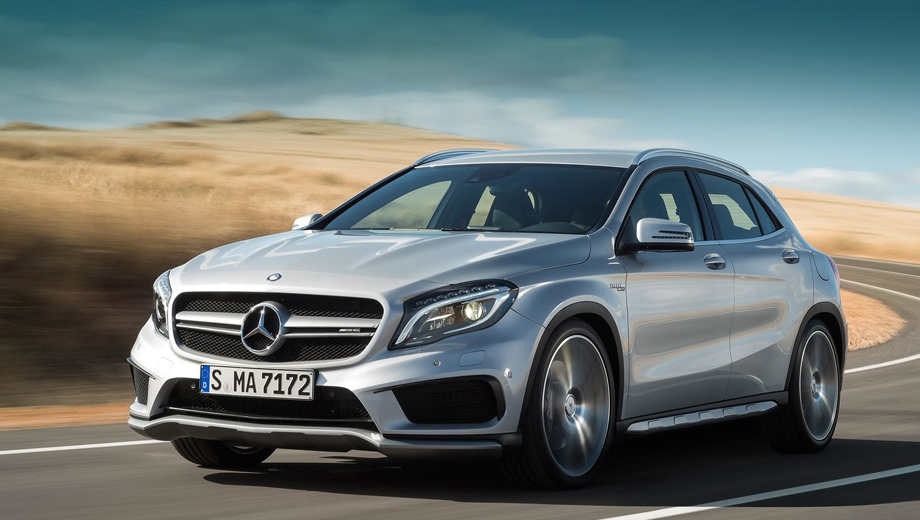 Mercedes gla,Mercedes gla amg. Хэтчбек A 45 AMG вызвал у нашей редакции весьма смешанные чувства. К кроссоверу вопросов наверняка будет ещё больше.