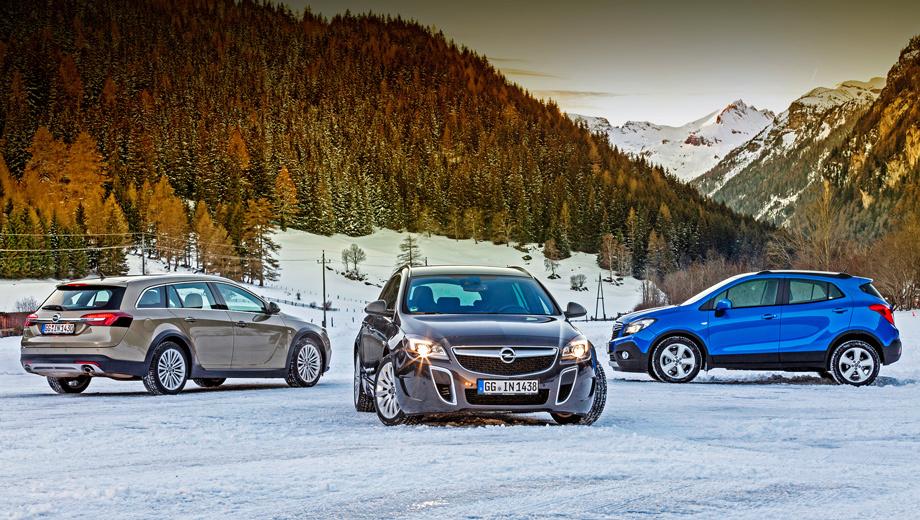 Opel insignia,Opel mokka. Наш инвентарь — Insignia Country Tourer, Insignia OPC и кроха Mokka. Все, что приятно, с «механикой».