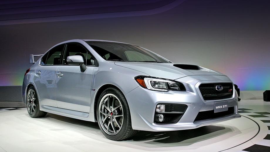 Subaru wrx sti,Subaru impreza wrx sti. Стилистически, как ни странно, новое поколение Subaru WRX STI перекликается с «десятым» Лансером. И ей на самом деле идёт. Отличия «заряженной» машины от гражданской пусть не кардинальны, но делают её намного красивее Импрезы. Ближний свет, габаритные огни, задние фонари и дополнительный стоп-сигнал — светодиодные.