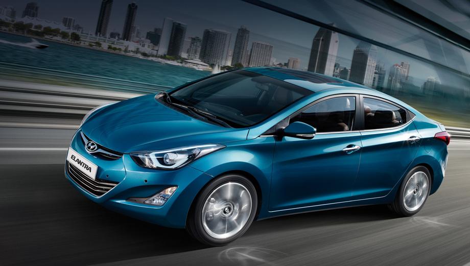 Hyundai elantra. Современная Elantra пришла на российский рынок осенью 2011 года, но до сих пор не вышла на уровень продаж предшественницы. Например, в 2010 году россияне купили 11 948 седанов, а за неполный 2011-й — 7630.