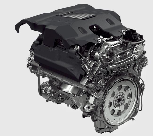 бензиновый двигатель LR-V8