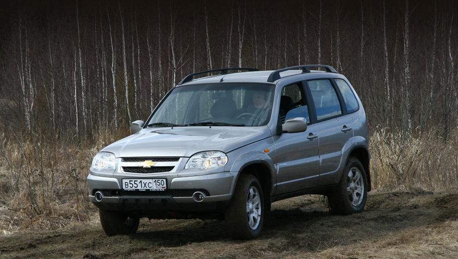 Chevrolet niva. Внедорожник Chevrolet Niva текущего поколения выпускается с 2002 года. В 2009 году был проведён рестайлинг, причём к экстерьеру и интерьеру обновлённой машины руку приложило ателье Bertone. В прошлом году в России было продано 53 344 Шеви-Нивы. Это лидер в сегменте внедорожников B-класса и 11-й по популярности автомобиль среди всех сегментов.