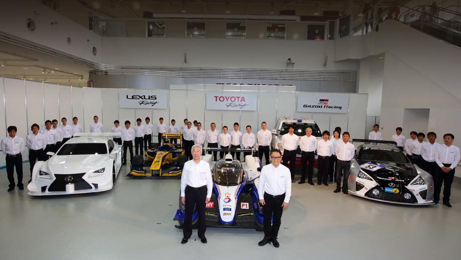 Toyota ts040,Lexus rc f gt500. В 2014 году компания будет поддерживать команды в нескольких сериях самого разного уровня: от домашних любительских driving experiences на купе 86 до 24 часов Ле-Мана.