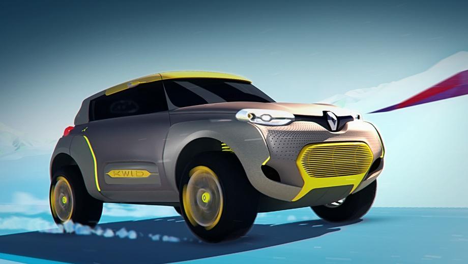 Renault kwid. Автомобиль для развивающихся рынков не обязательно должен быть прозаическим на вид. Почему бы ему не быть ярким и запоминающимся? Таков лейтмотив совместной работы студий Technocentre Design (Франция), Renault Design India и Studio Design Brazil.