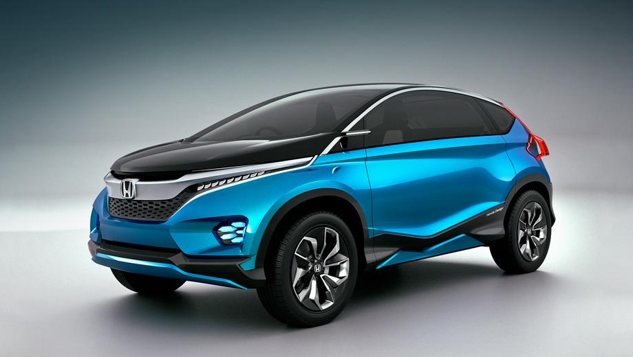 Honda vision xs-1,Honda concept. Компания сообщает, что Vision XS-1 должен представлять творчество Хонды в области компактных автомобилей, чей рынок растёт во всём мире.