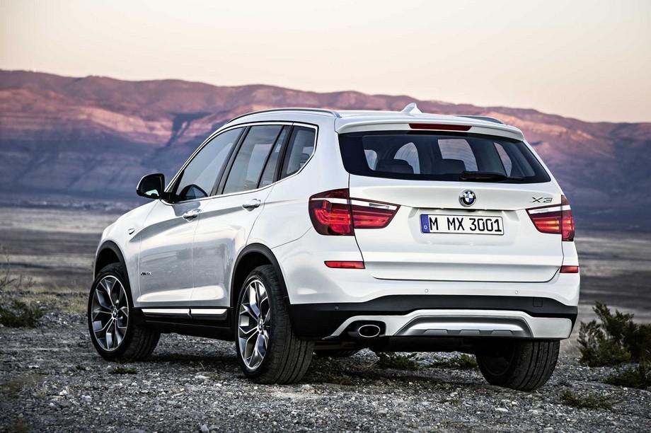 Представляем новый BMW X3!