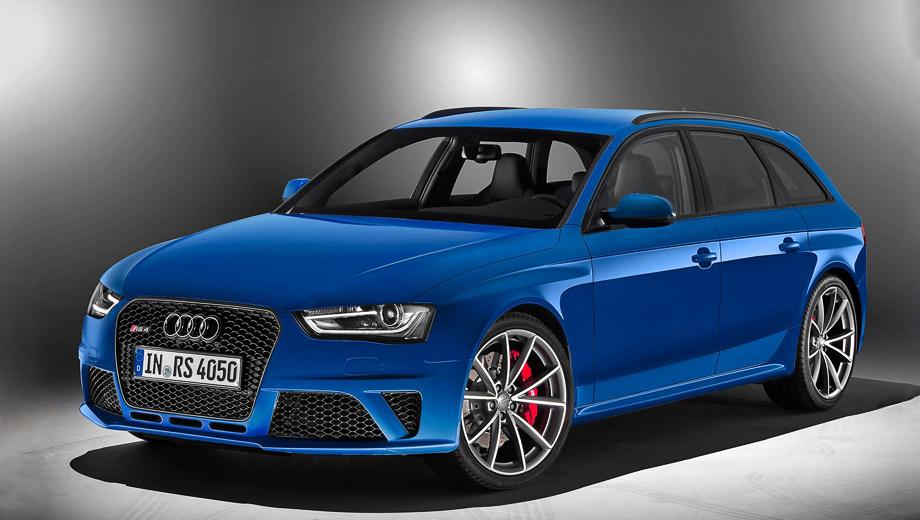 Audi rs4,Audi rs2. Фирменный цвет Nogaro, чёрный глянец на решётке радиатора, выхлопных патрубках  и окантовке окон, а также чёрная матовая окраска рейлингов — вот и все внешние отличия от стандартной машины.