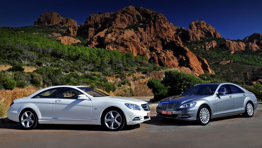 Mercedes s,Mercedes cl. После рестайлинга цены на CL 500 начинаются c 6 280 000 рублей, а для S 500 CGI BlueEfficiency их объявят в ноябре. Живые седаны появятся в первой половине 2011 года.