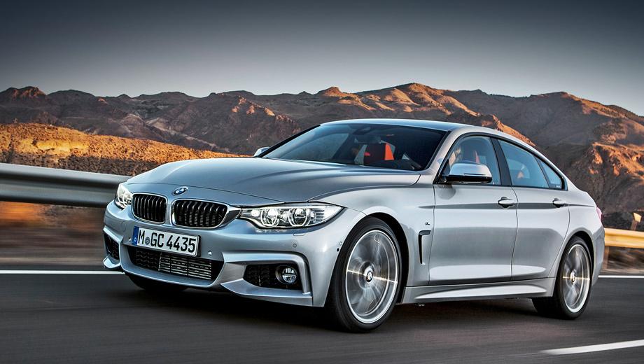 Bmw 4,Bmw 4 gran coupe. Пятидверка доступна в трёх исполнениях: Sport, Modern и Luxury. Помимо этого, автомобиль также может быть оснащён опциональным M-Спорт пакетом (на фото).