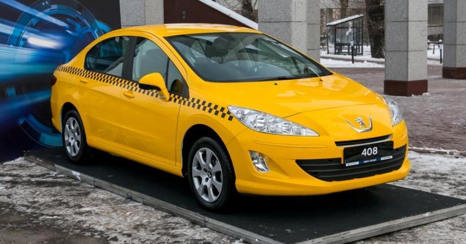 peugeot 408 для такси