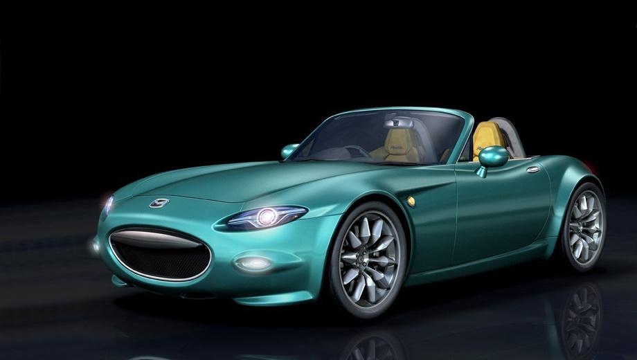 Mazda mx-5. Этот эскиз журнала Motoring, по словам инсайдеров, на 85% близок к тому облику, который получит новый родстер MX-5.