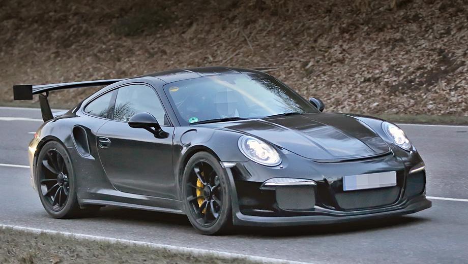 Porsche 911,Porsche 911 gt3 rs. Не смотря на наличие воздухозаборников в задних крыльях, турбонаддува у версии 911 GT3 RS не будет.