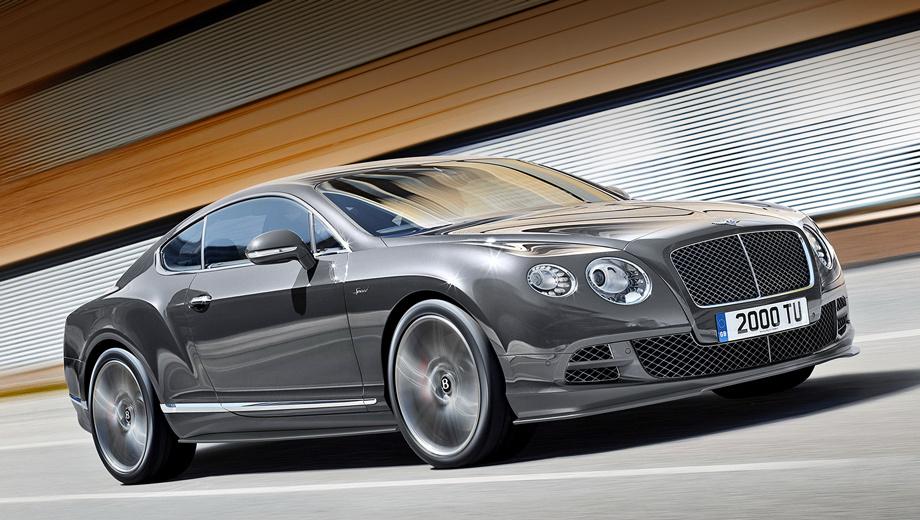 Bentley continental gt,Bentley continental gtc,Bentley continental gt speed,Bentley continental gtc speed,Bentley continental flying spur. Если на сумасшедшей скорости вы не сможете опознать самый быстрый Bentley в истории, то вам помогут хромированные шильдики Speed на передних крыльях. Ах да, их ещё надо успеть разглядеть.