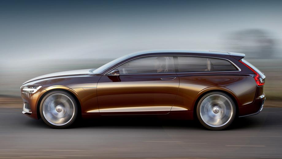 Volvo concept estate. Публичный дебют новинки состоится уже на следующей неделе в Женеве. По всей видимости, как и два его предшественника, концепт окажется гибридом, построенным вокруг двигателя из серии Drive-E.