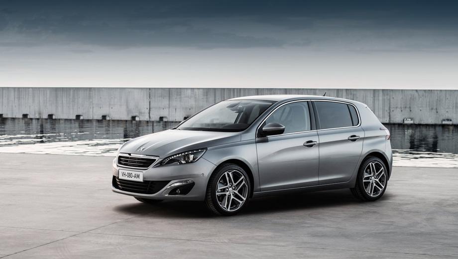 Peugeot 308. Внешность 308-го как минимум приятная и сбалансированная. Но на членов жюри в большей степени произвела впечатление начинка, да и нельзя не заметить прекрасные для сегмента С показатели расхода топлива: от 3,1 л/100 км (для дизельных версий) и от 4,6 (для бензиновых).