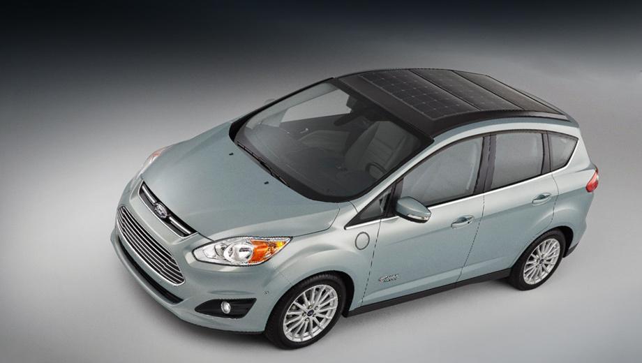 Ford c-max. Концепт построен Фордом при участии компании SunPower и Технологического института Джорджии. В январе нынешнего года автомобиль был представлен на выставке потребительской электроники CES, а сейчас прибыл в Женеву. Здесь прошёл его европейский дебют.