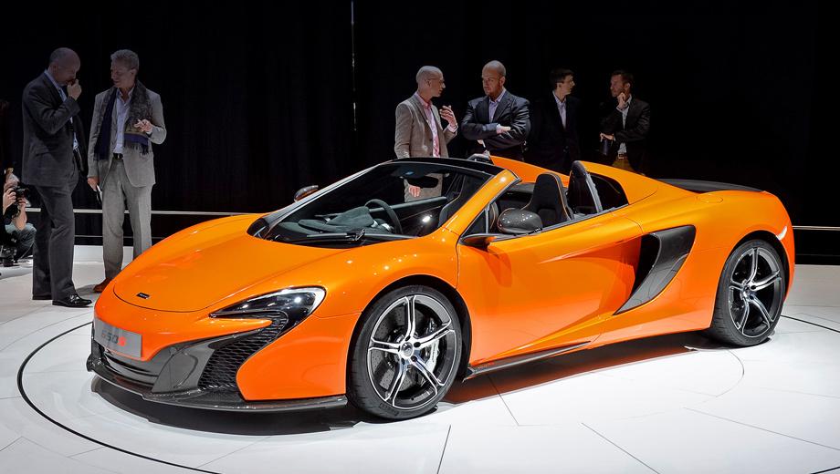 Спайдер McLaren 650S практически не уступил купе — ДРАЙВ