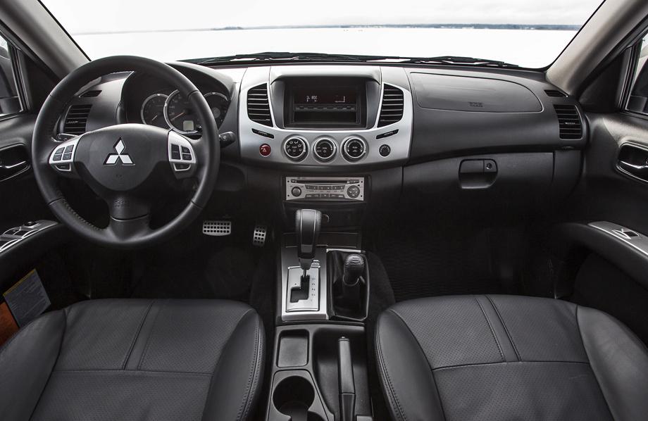 Восполняем пробелы с обновлённым Mitsubishi L200
