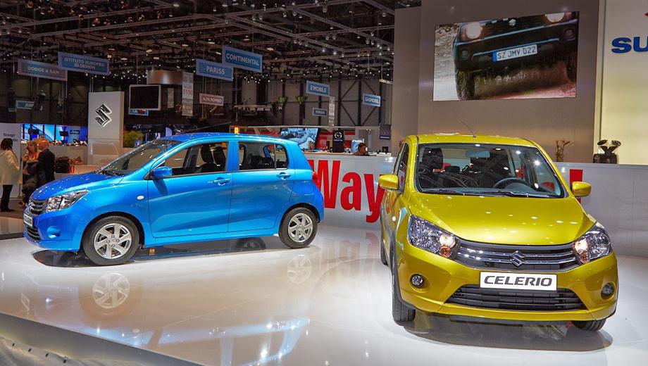 Suzuki celerio. У европейского хэтча Suzuki Celerio останется тот же литровый мотор, что и на индийском рынке, при чём его оснастят системой Start-stop. Агрегатироваться он будет с новой роботизированной трансмиссией AMT.