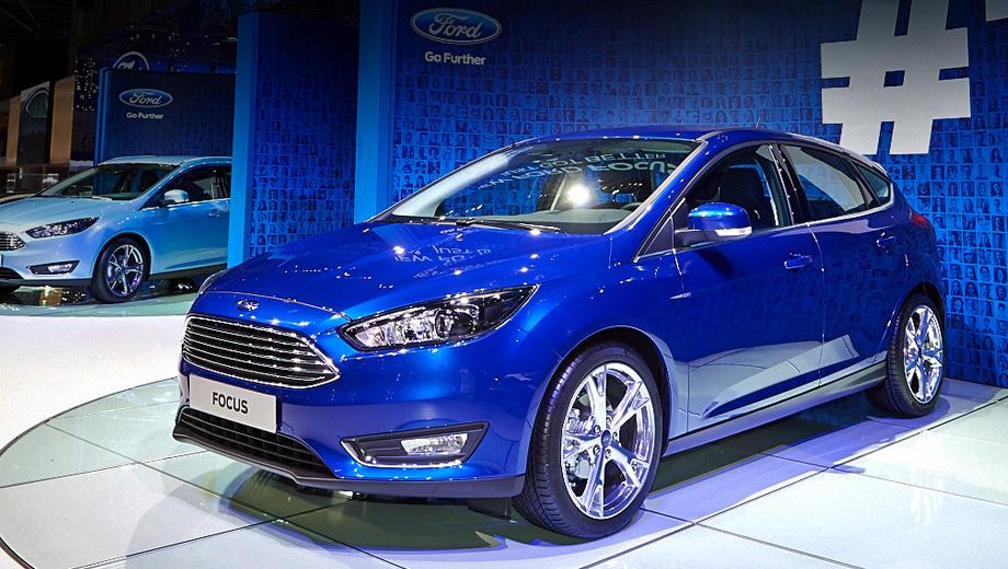 Ford focus. Больше всего изменений пришлось на фронтальную часть пятидверок. С морды они теперь напоминают седан Ford Fusion (Mondeo на некоторых рынках), который всё никак не доберётся до России.