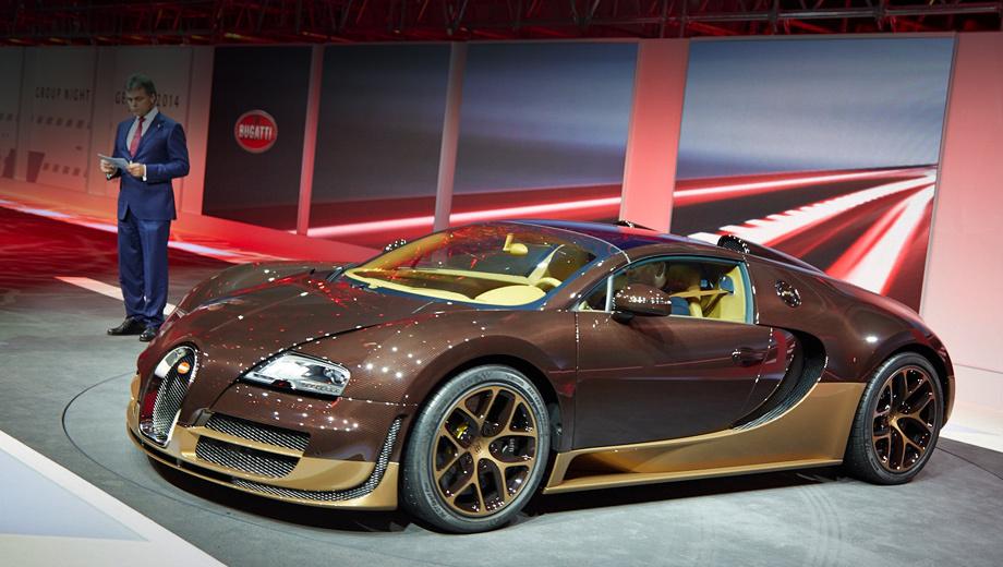 Bugatti veyron. Нынешняя особая серия создана по тем же канонам, что и предыдущие: особый окрас кузова, уникальная отделка интерьера, а также новые диски.