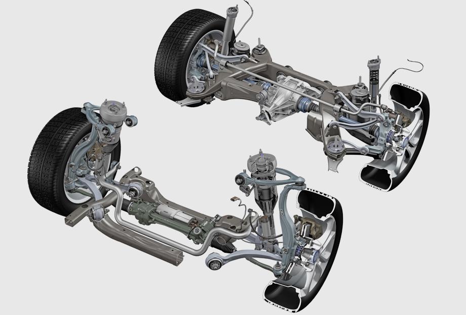Картинки ходовой части автомобиля