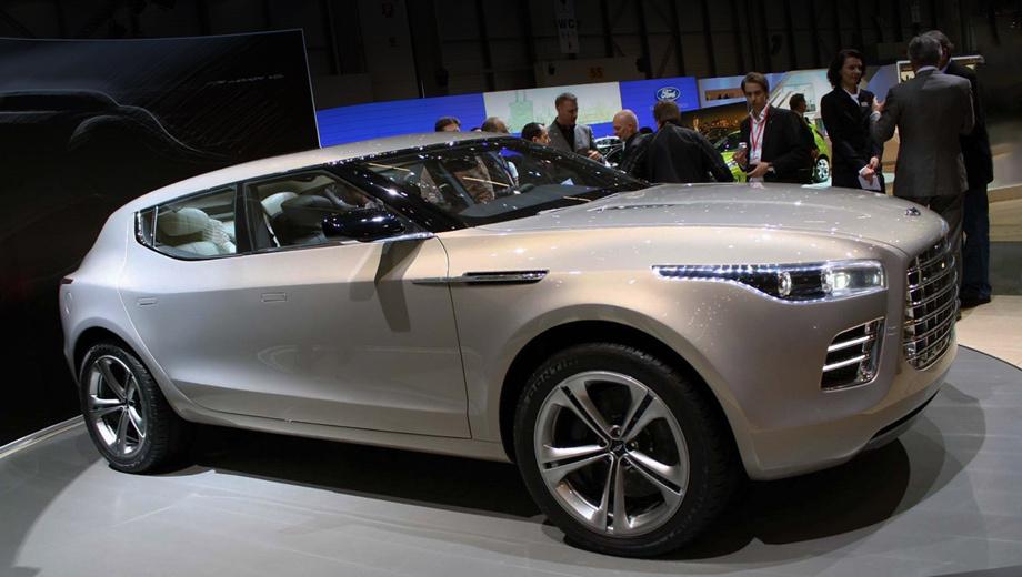 Aston martin lagonda. Концепт Aston Martin Lagonda использовал шасси от Mercedes-Benz GL, серийный вариант британского автомобиля вполне может получить основу от GL следующего поколения.