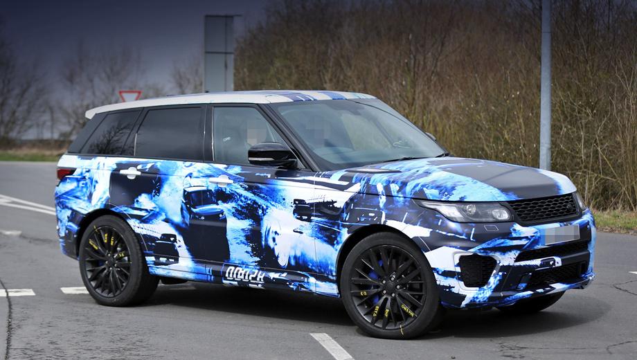 Заряженный» Range Rover Sport RS показался раньше Эвока — ДРАЙВ