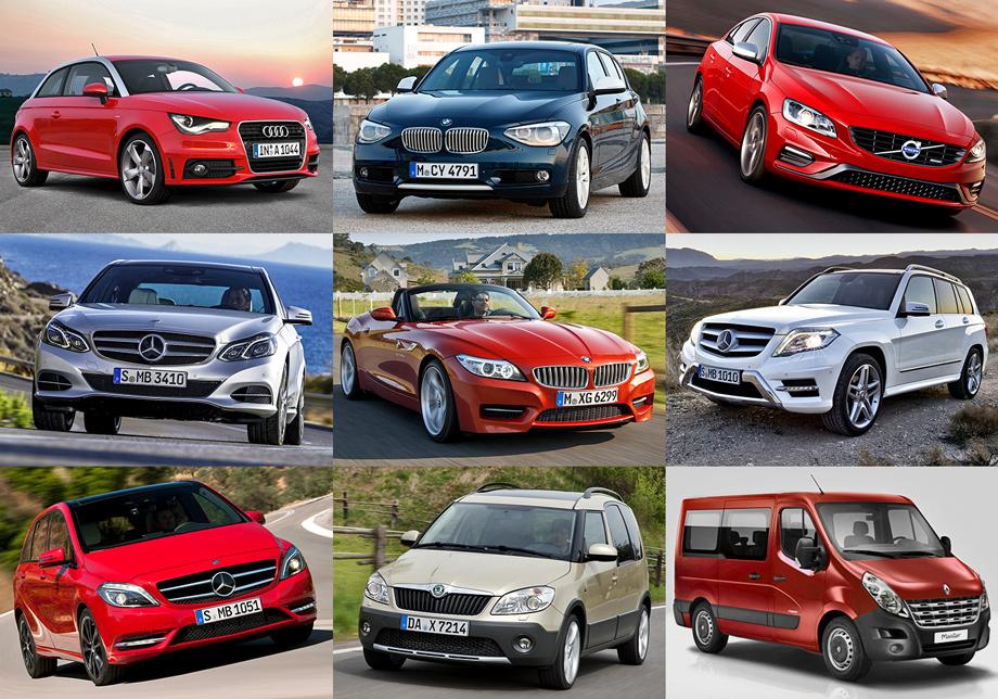 фото автомобилей по маркам и модельному ряду