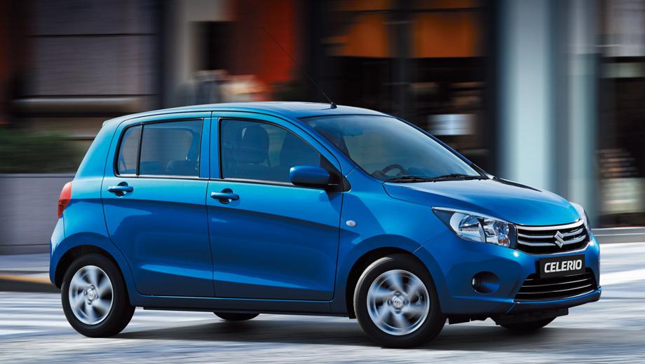 Suzuki celerio. Для тайского рынка местный завод начнёт сборку новинки в мае, а для европейских стран — во второй половине 2014 года.