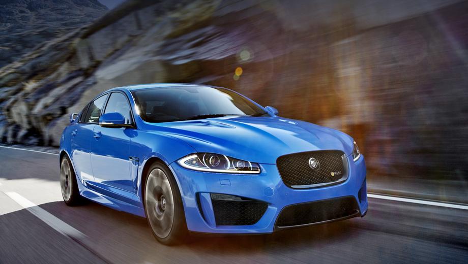 Седан Jaguar XFR-S оказался дороже конкурентов — ДРАЙВ