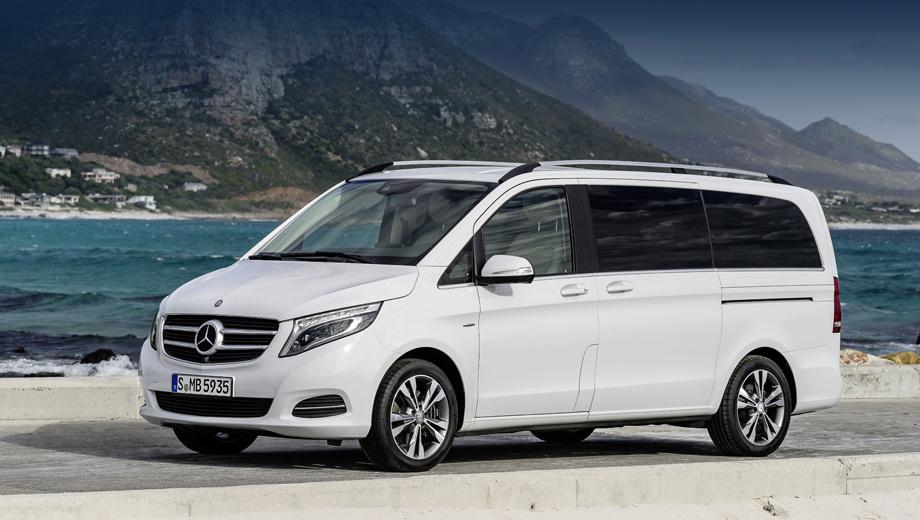Mercedes предложил интересную цену на минивэн V-класса — ДРАЙВ