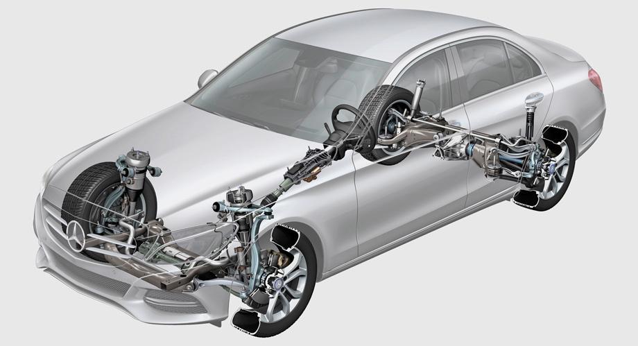 Mercedes C-класса с заводским