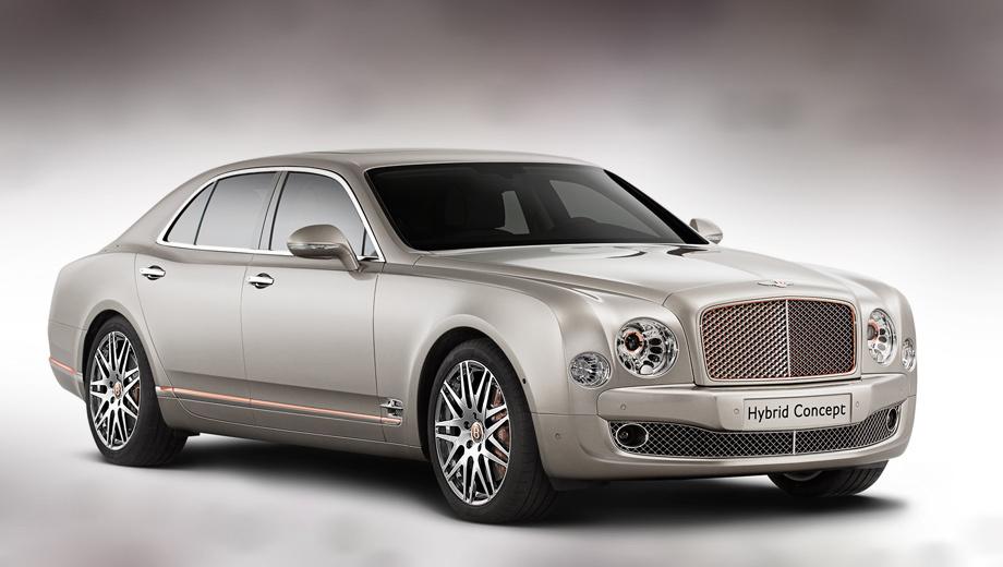 Bentley mulsanne. В прошлом году глава Bentley Вольфганг Шрайбер говорил, что марка выберет путь гибридизации вместо, к примеру, внедрения дизелей. 20 апреля в Пекине можно будет увидеть, как компания реализовала замысел.