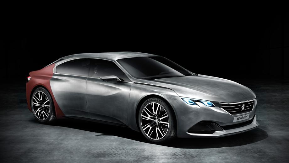 Peugeot exalt,Peugeot concept. На постройку концепта Exalt у французов ушло немало времени — полтора года.