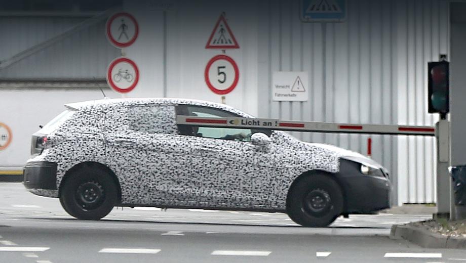 Opel astra. Под капотом должны оказаться двигатели из новейшей генерации семьи Ecotec, в том числе 115-сильный трёхцилиндровый литровый агрегат.