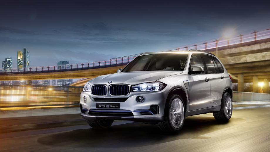 Гибрид BMW Concept X5 eDrive скоро попадёт на конвейер — ДРАЙВ