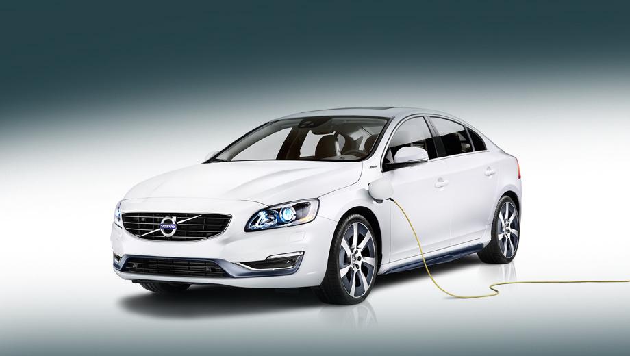 Volvo s60,Volvo s60l pphev. Публичный дебют гибрида состоится через несколько дней на автосалоне в Пекине.
